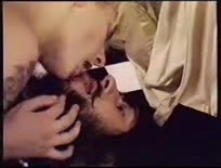 Blowing and fucking the clergy cock